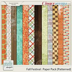 Fall Festival : Paper Pack [Patterned]
