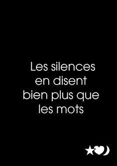 Les silences en disent bien plus que les mots. 19 mai 2015.