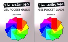 Find the Perfect Lighting Gels with These LEE Filters and Roscolux Pocket Guides