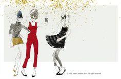 Paula Sanz Caballero for INDITEX Magazine - The Illustration Room