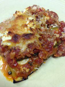 Primal Zone Diet ~ Zucchini Lasagna