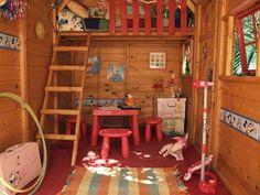 maisonnette en bois cabane pour enfant