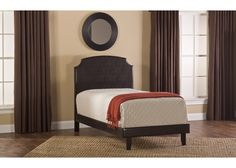 1292-lawler-king-bed-set-w-rails - Free Shipping!