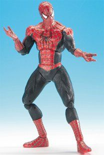 SPIDERMAN 2 30cms poseable roto-figure  With over 20 points of articulation. Age from 4 years  http://www.comparestoreprices.co.uk/action-figures/spiderman-2-30cms-poseable-roto-figure.asp