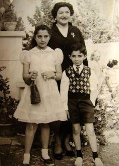 50s family photo Iran
