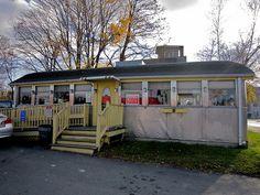 Joe's Diner Taunton MA Exterior Front by Mod Betty / RetroRoadmap.com, via Flickr