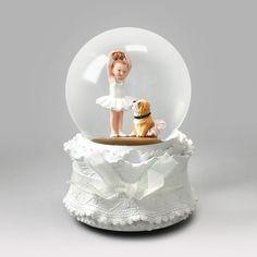 Tutu Cute Ballerina Snow Globe