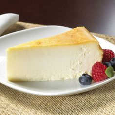 Slice of New York Cheesecake