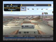 One of my favorite parts of Tony Hawk games as a kid - I've spent countless hours creating parks.