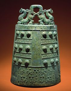 Bell, Eastern Zhou dynasty, late Spring and Autumn period (770–ca. 475 b.c.), early 5th century b.c. China. Bronze.  Metropolitan Museum of Art