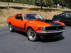 Old School Muscle Cars Mustang