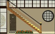 Mod The Sims - Shinto Stairs - Open Underneath