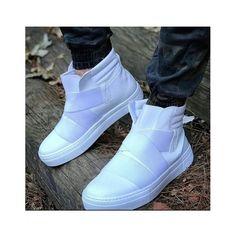 Chekich Half Mid Bağcıksız Erkek Sneaker Spor Ayakkabı CK023BY Puma Fierce, High Tops, High Top Sneakers, Zara, Mens Fashion, Pretty, Shoes, Shopping, Beautiful