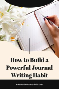 Do you want to start journaling? Journal writing is one of the most important tools you use to reflect on the present and plan for the future. Writing A Book Outline, Writing A Book Review, Book Writing Tips, Development Quotes, Personal Development, Improve Writing Skills, Daily Reflections, Faith Walk, Creative Writing Prompts
