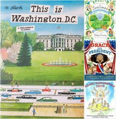 Prepping kids for a trip to Washington DC: fantastic picture book suggestions for getting your kids in the mood for seeing our nation's capitol.