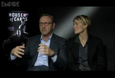 Kevin Spacey & Robin Wright interview with Empire .