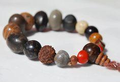 Mixed Bodhi Mala Seed Bracelet / Meditation/ by BohoBeachJewelry, $4.50