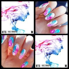 28 ideas for makeup korean style nail art Nail Art kpop nail art ideas Trendy Nail Art, Cute Nail Art, Cute Nails, Korean Nail Art, Korean Nails, K Pop Nails, Hair And Nails, Bts Makeup, Bts Tattoos