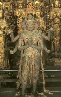 阿修羅像-ashurazou- (asura) Asura is a Buddhistic guardian deity. It belongs to 八部衆. 妙法院蓮華王院(myouhouinrengeouin)
