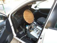 Remote control car - My real RC car #arduino #pneumatics