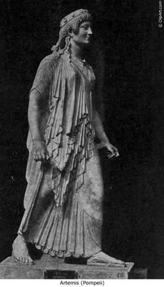 Etruscan Vestal virgin, Pompeii