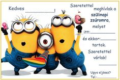Minions Happy Birthday Gif and images for loved ones. Funny Birthday Quotes and Wishes for Minions Cartoon Fans.