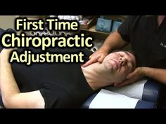 First Time Chiropractor Neck & Back Adjustment Demonstration by Austin C...