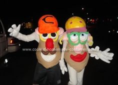 50+ Creative Homemade Mr Potato Head Costumes 74ba03224df7