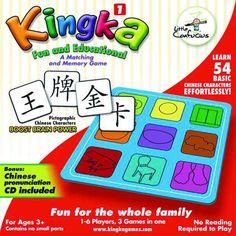 Kingka Chinese Matching and Memory Game 1