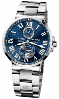Ulysse Nardin Maxi Marine Chronometer 43mm 263-67-7m/43 RRP USD $9,300