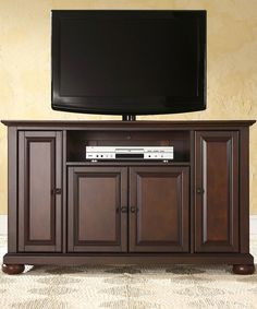Take a look at this 48'' Vintage Mahogany Alexandria TV Stand today!