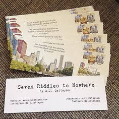 Bookmarks arrived last week! Want one? Come see me at the Mystery Writers of America booth at the @printersrowfest on June 12! I'll be on a panel discussion at 1:15 and signing books from 2:30-4:00. . . #bookstagram #booknerd #bibliophile #bookworm #bookish #booknerdigans #bookaddict #bookfan #booklove #igbooks #instabooks #instareads #booksoninstagram #authorsofinstagram #writersofinstagram #mystery #mysterywriter #chicago #middlegrade #middlegradefiction #middlegradebooks