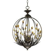 """View the Cyan Design 01193 21"""" Amber Chandelier from the Decorative Vases Collection at LightingDirect.com."""