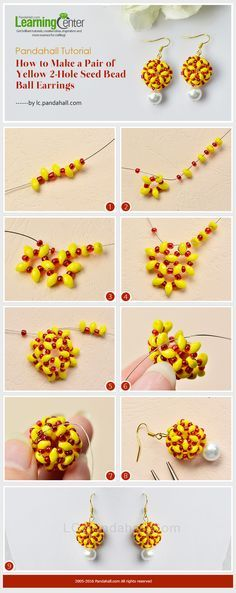 2-tone beaded bead picture tute ~ Seed Bead Tutorials
