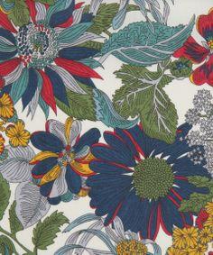 Liberty Art Fabrics Angelica Garla A Tana Lawn | Classic Tana Lawn Fabric by Liberty Art Fabrics | Liberty.co.uk