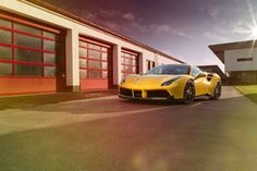 Novitec Rosso #Ferrari 488 GTB  #cars #supercars #exotics #sportscars #luxury #turbo  More from Novitec Rosso >> http://www.motoringexposure.com/aftermarket-tuned/novitec-rosso-ferrari/