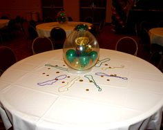 Mardi Gras Table Centerpiece Monona Terrace