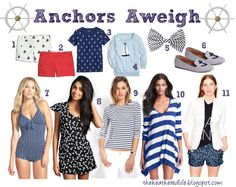 The Heathered Life: Fab Finds Friday: Let's Get Nautical!
