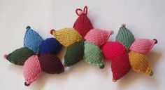 Knitted stars tutorial
