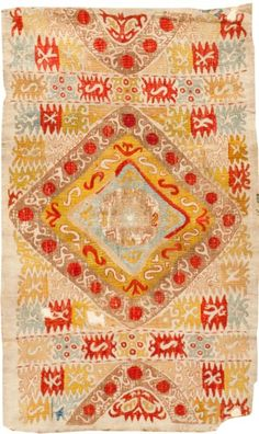 antique kaitag embroidery