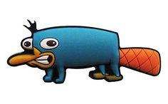 Perry the Platypus jibbitz croc charm <3
