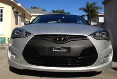Hyundai Veloster front plate accessory