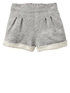 Marled cuff shorts Product Image