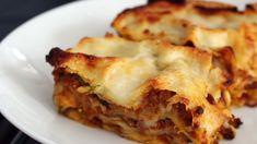 Lasagne on aina hyvää. Bolognese, Food And Drink, Baking, Ethnic Recipes, Mtv, Bullet, Lasagna, Bakken, Bread