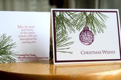 2014 Holiday Card Series - Ornamental Pine Day 2 - YouTube