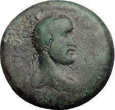 ANTONINUS PIUS 155AD Flaviopolis Flavias Cilicia Zeus Ancient Roman Coin i55753