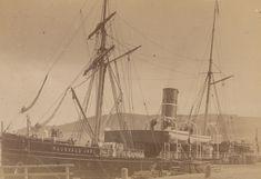 """Nordenfjeldske Dampskibsselskabs """"Ragnvald Jarl"""" (1893)   Flickr Trondheim, Sailing Ships, Boat, Dinghy, Boats, Tall Ships, Ship"""