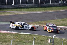 2012 Superstars Championship - Mercedes C Klasse crash