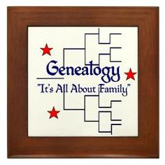 "Family Tree Chart Framed Tile > ""It's All About Family"" > Genealogy Store USA"