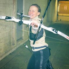 Me posing with my bow in 2010. Archery was my inspiration for my historical fiction book series Tavastia Chronicles.